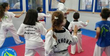 Δωρεάν μαθήματα Taekwondo για παιδιά 4 έως 8 ετών