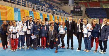1ος Σύλλογος στην Γενική κατάταξη μεταλλίων η Σχολή Taekwondo Jaguar